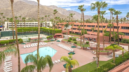 With year-round sun, Palm Springs is popular with hikers and Coachella festival-goers, and the Marquis Villas Resort is one of many great accommodation options