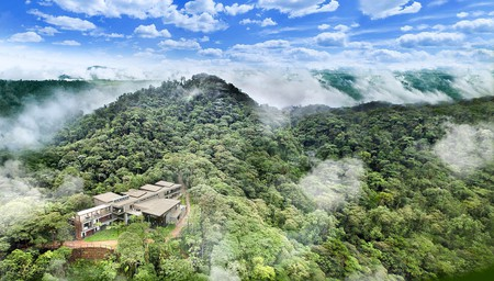 If you're looking for somewhere remote in the Ecuadorian cloud forest, Mashpi Lodge is for you
