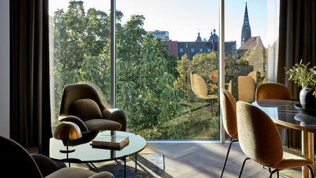 The Mauritzhof Hotel is an elegant and luxurious boutique hotel in Münster, Germany
