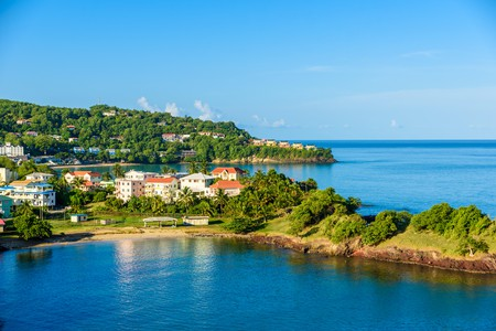 St Lucia is a paradise destination with a white-sand beach and turquoise water