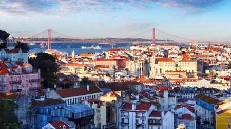 Lisbon, Portugal, has a beautiful skyline