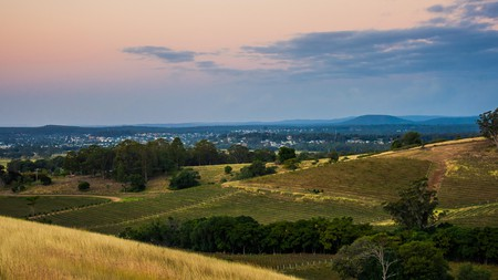 The Hunter Valley Australian landscape, the perfect location for respite and relaxation