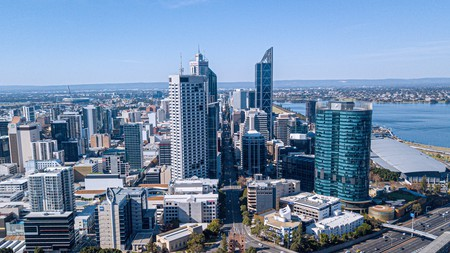 Many of Perth's hotels put you in prime territory to explore the city on foot