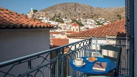 Car-free Hydra is just a two-hour ferry ride from Athens, but it feels a world away from city life