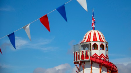 Bournemouth's pier boasts a helter-skelter and a pier-to-shore zip line
