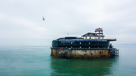Originally built to defend against French attack in the Solent, No Man's Fort is now a hotel