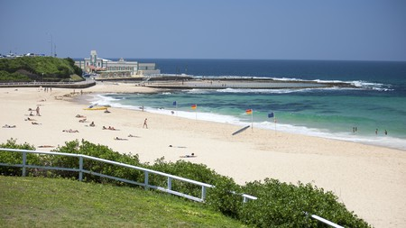The view from Novotel Newcastle Beach