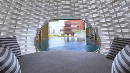 Enjoy stylish city living at Oriental Residence Bangkok, one of the Thai capital's many top class apartment hotels