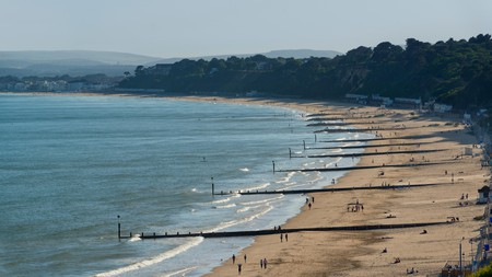 Bournemouth's beaches stretch for miles