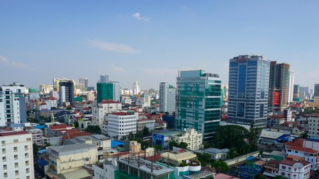 Find a hotel haven from Phnom Penh's exhilarating buzz