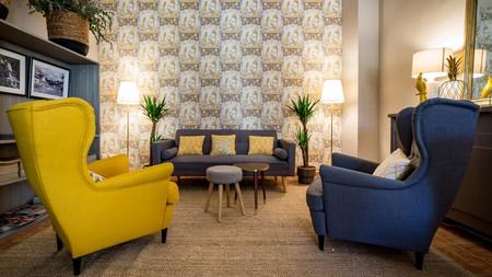 Rooms range from one bedroom to duplex apartments at the Palacio de Rojas