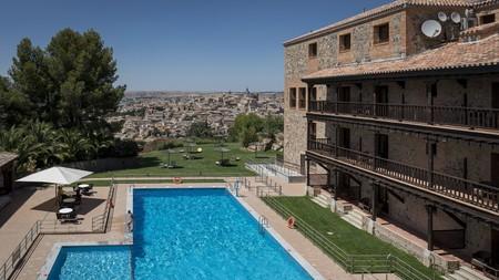 Parador de Toledo is set high on a hilltop overlooking Toledo