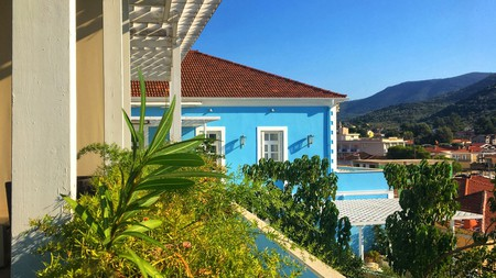 The best bases on the island of Ithaca are in the port capital of Vathy
