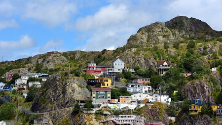 The Battery neighborhood is a colorful part of St John's