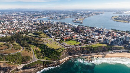 Newcastle is one of the largest cities in Australia and offers some breathtaking scenery