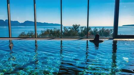 Go for a swim at one of the six pools at the PortBlue Club Pollentia Resort in Alcúdia, Mallorca