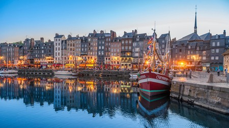 With its picturesque port, it's easy to see why so many artists have been drawn to Honfleur