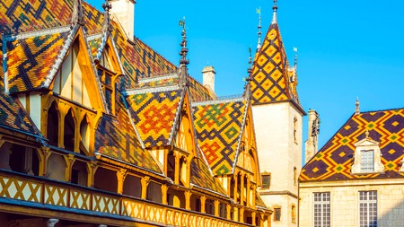 The Hospices de Beaune is at the heart of the wine-making region of Burgundy