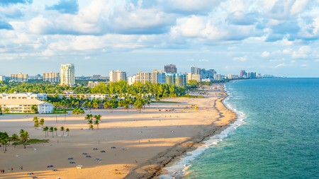 Relax at Fort Lauderdale beach on a trip to the Sunshine State