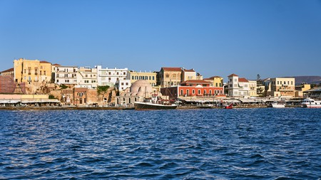 Chania's architecture bears the imprint of Crete's diverse history