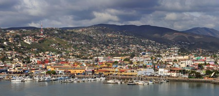 Watch the world go by over a cocktail at yacht-packed Ensenada Port