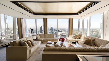 High life: Shangri-La hotel at The Shard, London