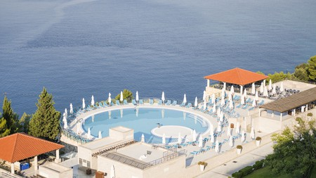 Sun Gardens Dubrovnik has several outdoor pools where you can spread out and soak up the sun