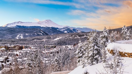 The fresh mountain air is just what you'll need as Breckenridge takes your breath away