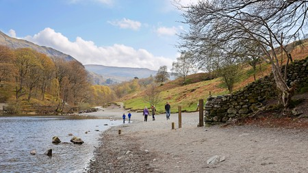 Take the whole family along on the Rydal Water trail and then retire for the night in one of the best hotels in the Lake District