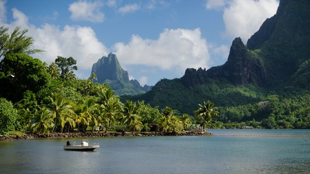 Tahiti is part of the Society Islands, which also include Bora Bora and Moorea