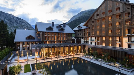 The charming alpine town of Andermatt, in Switzerland, has a wide range of hotel options, including the award-winning Chedi Andermatt |