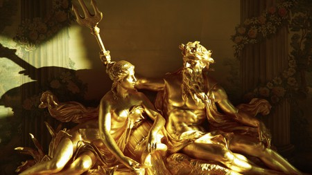 All that glitters: a statue at The Ritz hotel, London