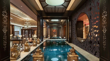 While in Egypt, splash out on luxury with a stay at the St. Regis Cairo