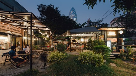 The Yard Hostel is just one of the places that will allow you to experience a different, less tourist-oriented side of Bangkok