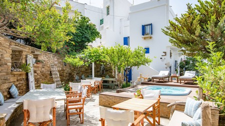 Tinos is known as a pilgrimage site, but the island is also home to beautiful white-sand beaches and picturesque villages