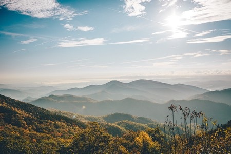 Stay in one of the best luxury hotels in North Carolina while exploring the Blue Ridge Mountains