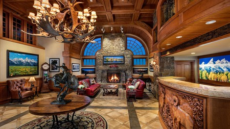 Experience a mix of Wyoming's cowboy spirit and Jackson Hole's epic skiing at one of the best hotels in the area