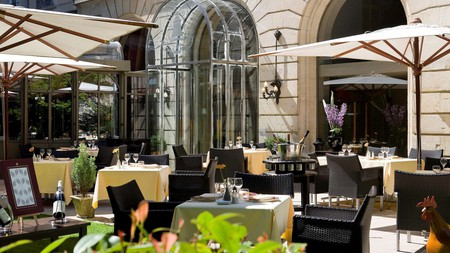 The Grand Hôtel La Clocheonly is the only five-star hotel in the French city