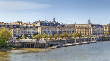 Bordeaux's grand waterfront
