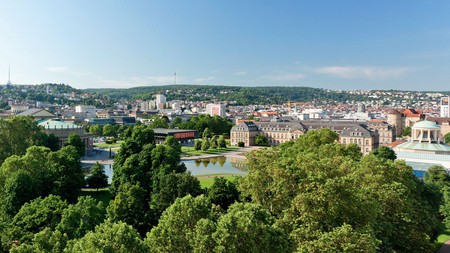 Enjoy the city's green spaces on a getaway to Stuttgart