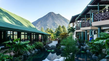 The jaw-dropping view of Arenal Volcano at Observatory Lodge & Spa