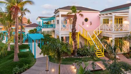 The Boardwalk Boutique Hotel Aruba comprises 46 charming casitas