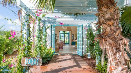 The Boardwalk is a former coconut plantation set in lush, tropical gardens