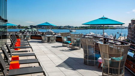You'll never tire of the views at the Boston Marriott Long Wharf
