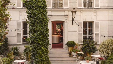 The Hôtel Particulier Montmartre is one of several B&Bs in Paris brimming with historical charm