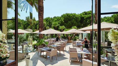 Hotel Juana is one of the old-school classic properties in Antibes
