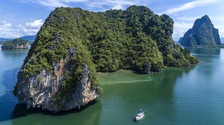 Phang Nga Bay, near Phuket island