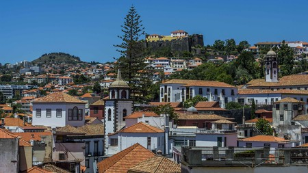Castanheiro Boutique Hotel sits in the heart of Funchal and offers incredible views