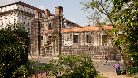 Visit the Walled City of Intramuros