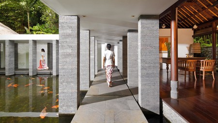 Savour serene surroundings from an intimate base in Ubud
